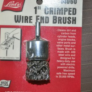 Wire-End-brush-1-with-14-shank-020-Crimped-Heat-temper-wire-Lisle-14060-US-262174569672