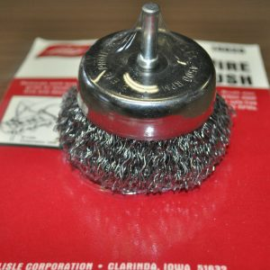 Wire-Cup-Brush-2-12-with-14-Shank-014-carbon-steel-wire-Lisle-14020-USA-252198016457